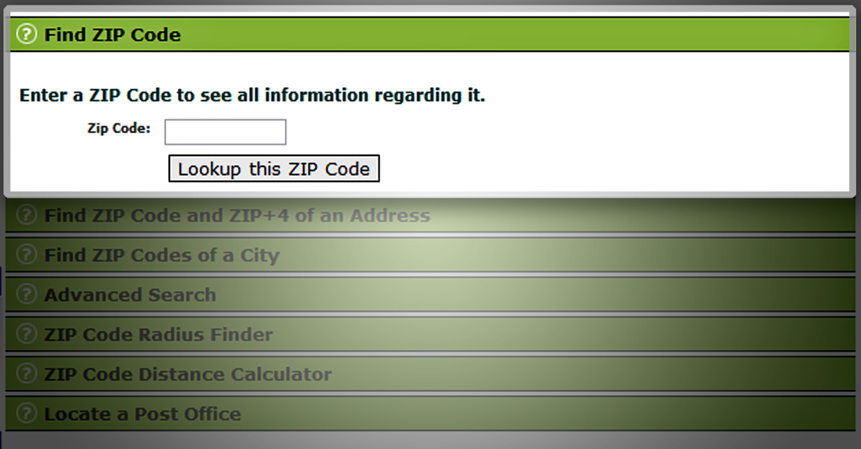 About US ZIP Codes