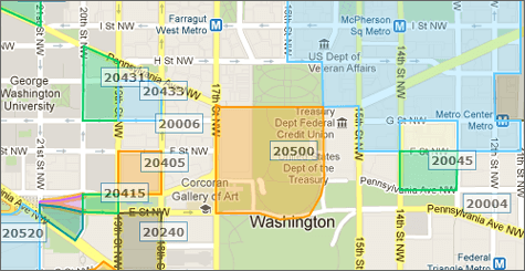 zip code boundary data