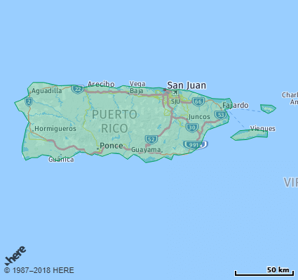 Listing Of All Zip Codes In The State Of Puerto Rico