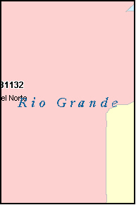 RIO GRANDE County, CO ZIP Code Map
