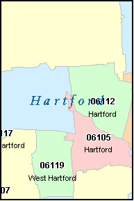 WEATOGUE Connecticut, CT ZIP Code Map