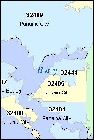 Panama City Beach Zip