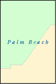 PALM BEACH County, FL ZIP Code Map
