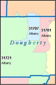 Albany Ga Zip Code Map | Zip Code MAP