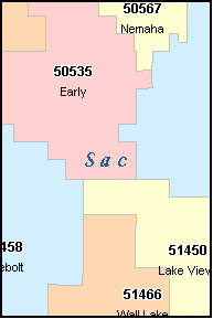 Sac City Iowa Zip Code