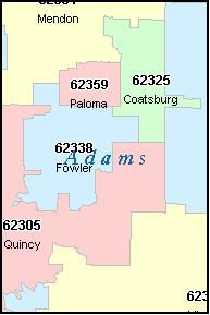 Quincy Zip Code Map | Zip Code MAP
