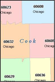 Chicago Zip Code Map 2016.Evanston Zip Code Map Zip Code Map