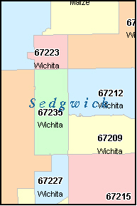 Zip Code Map Wichita Ks Wichita Ks Zip Code Boundary Map | Zip Code MAP Zip Code Map Wichita Ks