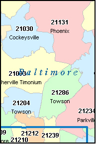 Baltimore County Zip Code Map Compressportnederland