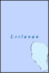 LEELANAU County, MI ZIP Code Map