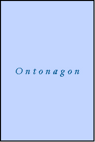 ONTONAGON County, MI ZIP Code Map