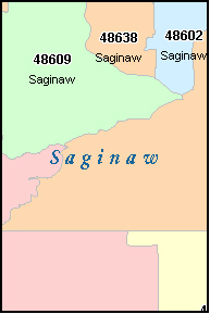 Saginaw Mi Zip Code Map.Zip Code Map In Saginaw Michigan Www Picsbud Com