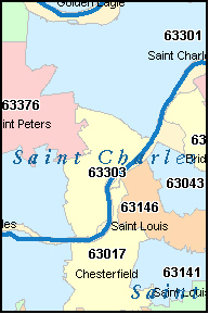 St Charles Mo Zip Code Map.St Peters Mo Zip Code Healthgain Store