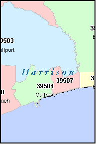 Biloxi Zip Code Map Zip Code Map