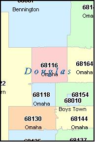 Zip Code Map For Omaha Ne | Zip Code MAP