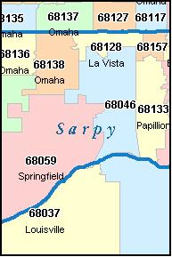 Nebraska Zip Code Map Bnhspine Com