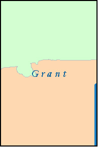 GRANT County, NM ZIP Code Map