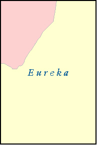 EUREKA County, NV ZIP Code Map