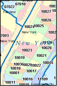 New York Zip Code Map Bnhspine Com