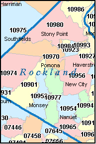 SPARKILL New York, NY ZIP Code Map