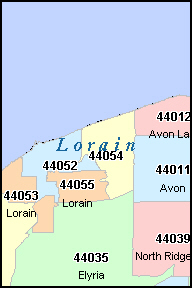 Lorain Zip Codes Ohio zip codes and information