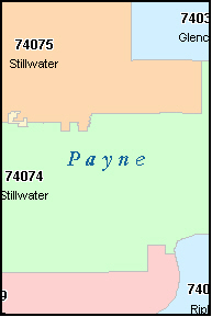 Stillwater Ok Zip Code Map | Zip Code MAP