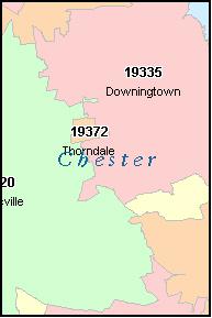 West Chester Pa Zip Code Map Zip Code Map