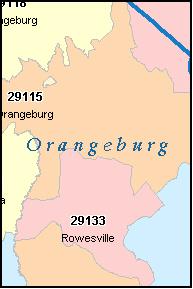 ZIP Code 29118 Map, Demographics, More for Orangeburg, SC