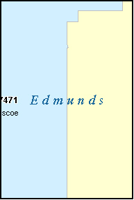 EDMUNDS County, SD ZIP Code Map