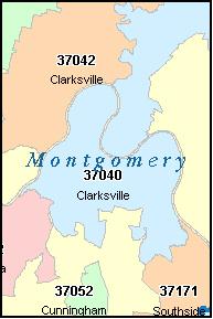 Clarksville Tn Zip Code Map | Zip Code MAP