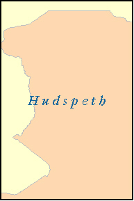 HUDSPETH County, TX ZIP Code Map