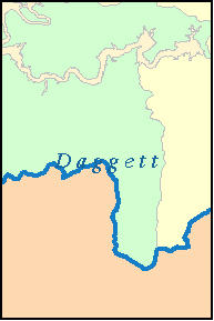 DAGGETT County, UT ZIP Code Map