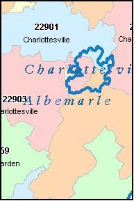 Charlottesville zip code map zip code map updated july 4 2017 at 600 pm tags charlottesville va zip code map sciox Choice Image