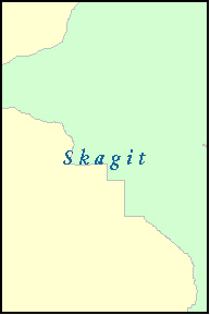SKAGIT County, WA ZIP Code Map
