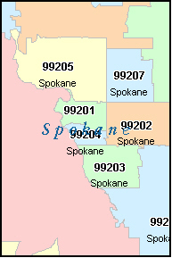 Washington Zip Code Map Afputra Com
